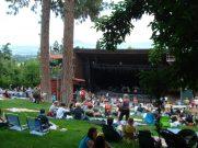Britt lawn filling up for Franti concert