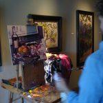 Gabriel Mark LIpper painted a new still life at Elan