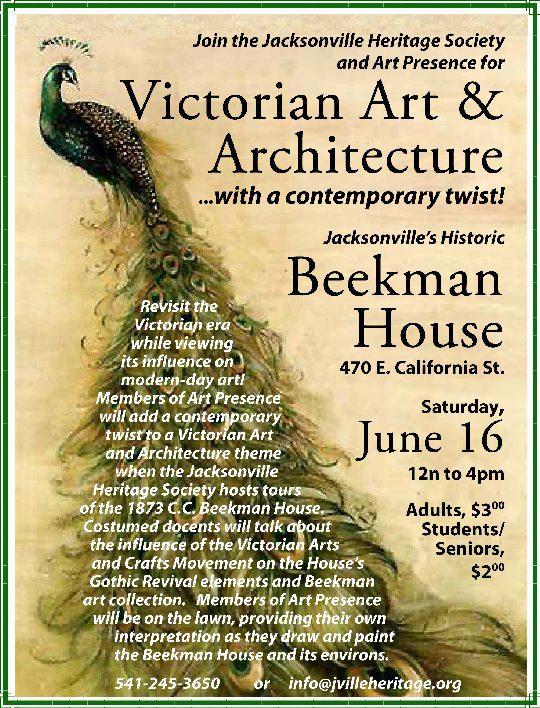 Beekman House Paintout flier