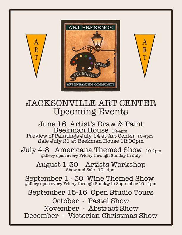 Art Presence Jacksonville Art Center Upcoming Events