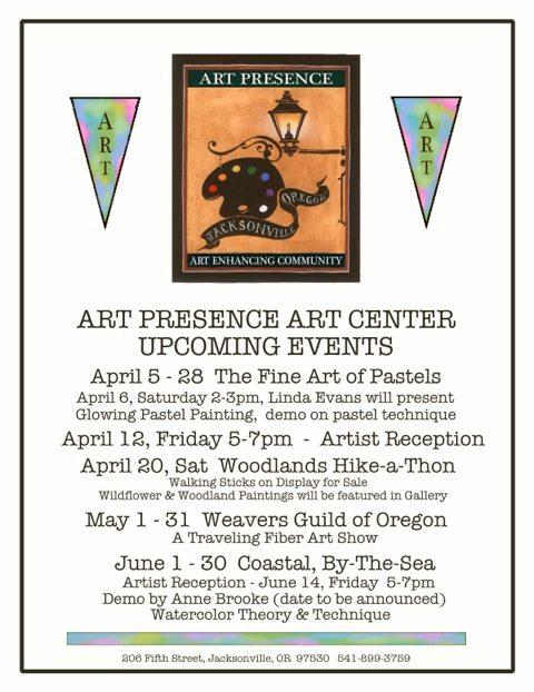 JAC Upcoming April-May-June