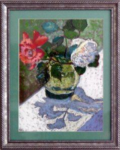 Still Life, pastel by Linda Evans