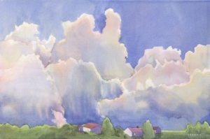 Watercolors by Anne Brooke at Pioneer Village @ Pioneer Village | Jacksonville | Oregon | United States