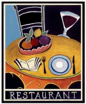 La Source Restaurant, by Katharine Gracey