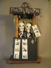 """Day of the Dead Photo Booth"" by Leona Keene Sewitsky"