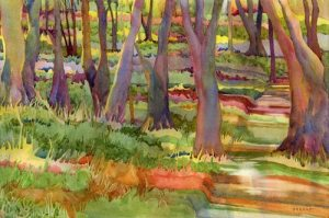 Watercolor Paintings by Anne Brooke @ Jacksonville Public Library | Jacksonville | Oregon | United States