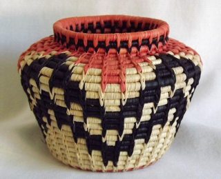 ART'Clectic Artisan's Market at Art Presence Art Center May 2015: Basket by Marie Cole