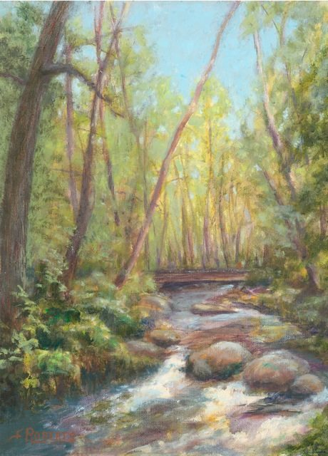Lithia Creek, by Carolyn Roberts