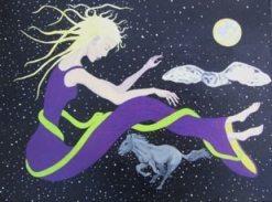 Spirit Dreams II, painting byZoe West
