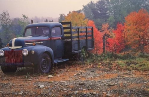 Fall Truck, image by Tom Glassman