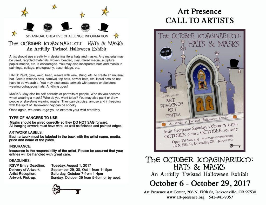October Imaginarium Call to Artists
