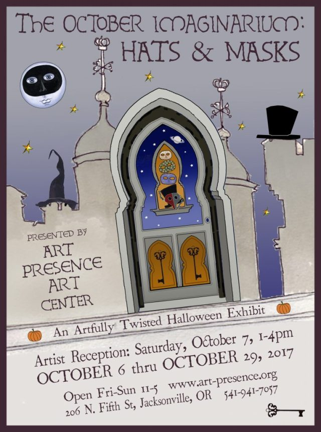 October Imaginarium Call to Artists: October Creative Challenge show flyer