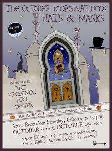 The October Imaginarium: Hats & Masks @ Art Presence Art Center