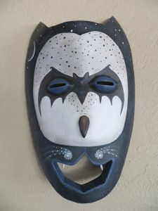 2017 October Imaginarium: The Bat House, mask by Leona Keene Sewitsky