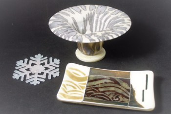 Holiday Treasures 2017 : Glass Art by Debbie Earley for perfect holiday giving