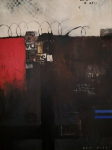 All My Life IV, 36 x 48 mixed media on canvas by Dan Mish