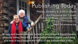 Publishing Today, A Conversation About Indie Publishing @ Art Presence Art Center