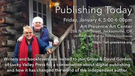 Publishing Today, with Ginna and David Gordon of Lucky Valley Publishing