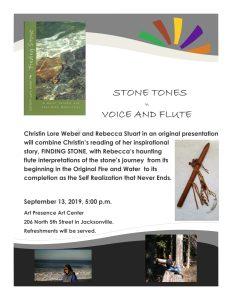 Stone Tones Author Reading