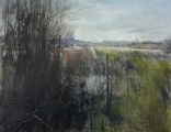 Early Spring, 22x28 oil painting by Lane Hall