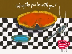 May the Pie Be With You, by Nancy Bardos