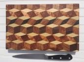 Cutting Board by Siskiyou Woodcrafters Guild member Devon Klarer