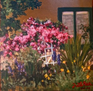 Jeanne LaRae - Summer Daze July 2020 members exhibit