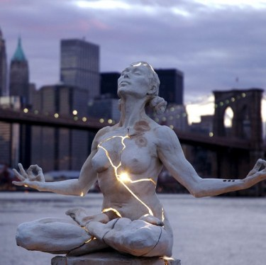 Expansion | Bronze with Electricity by Paige Bradley Click on the picture to see her other amazing sculptures
