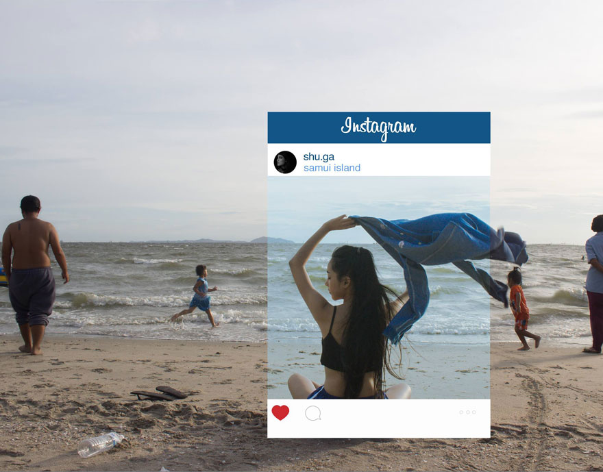 Photographer Debunks Instagram Photos By Showing How Fake