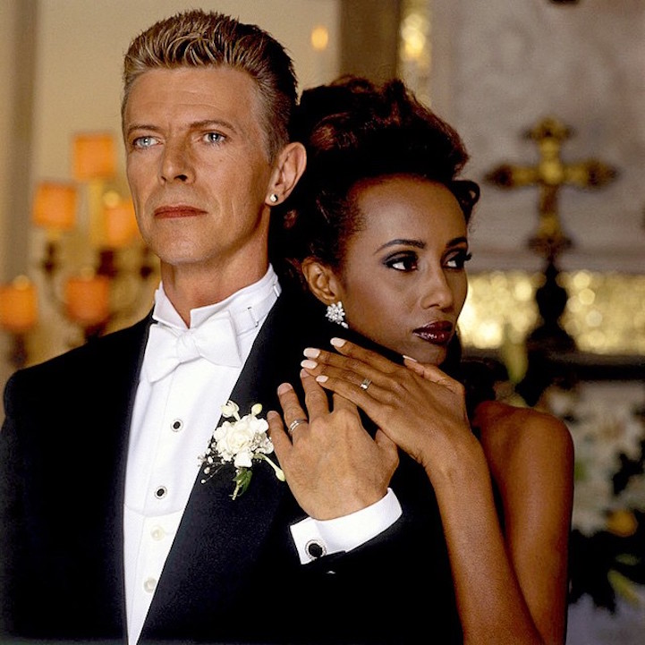 Beautiful Photos Of David Bowie And Iman S 23 Years Of Marriage Art Sheep