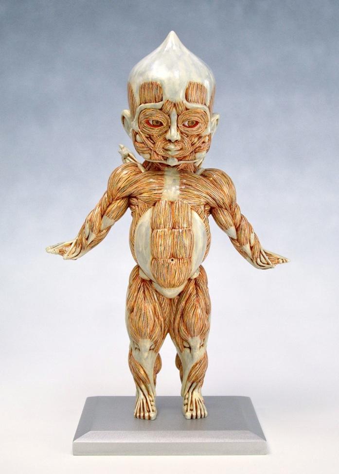 The Alien Anatomy Sculptures Of Masao Kinoshita Art Sheep