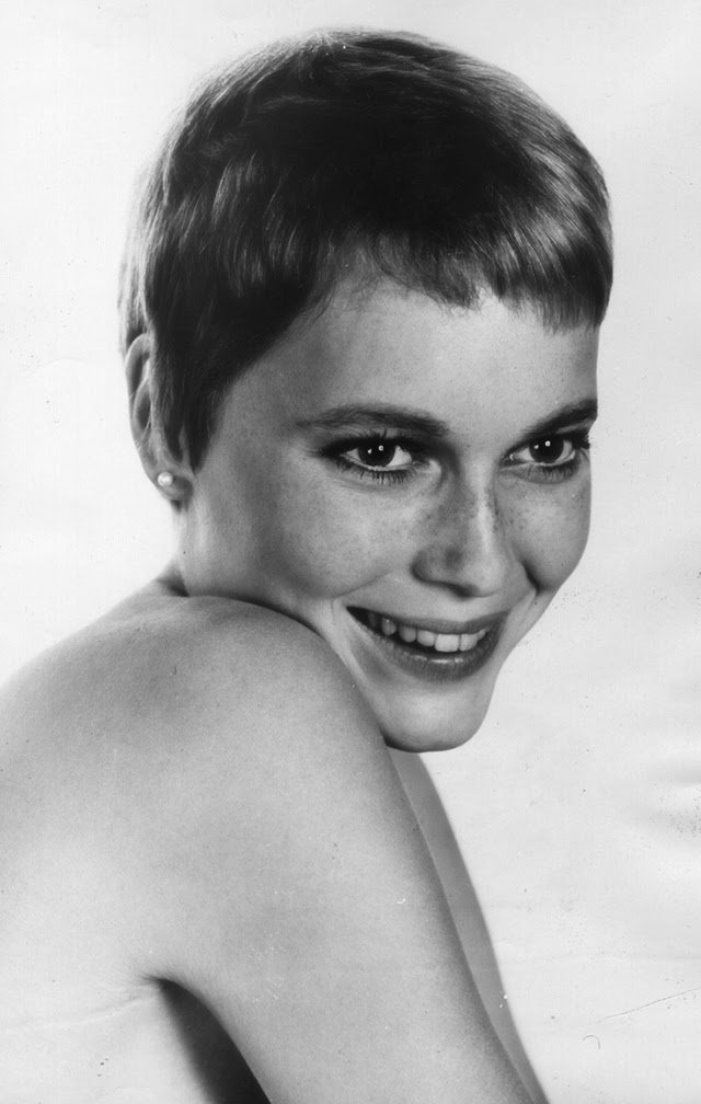 30 Beautiful Portraits Of Mia Farrow In The 1960s Art Sheep