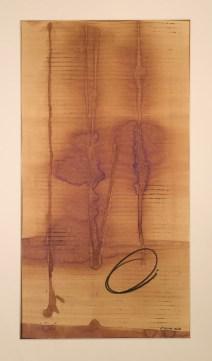 aus der reihe getanzt, mixed media auf papier, 63x43cm gerahmt, 2018