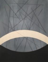 lifelines III, mixed media auf papier, 49x39cm, 2018
