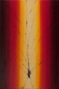 self-awareness, mixed media auf leinen, 60x40cm, 2012
