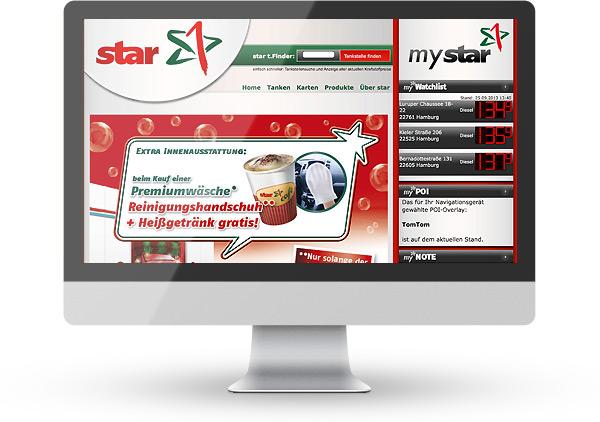 TYPO3 Star Tankstellen