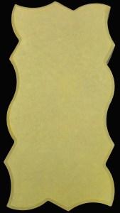 волна желтая