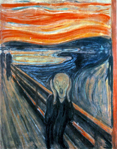 Scream by Edvard Munch
