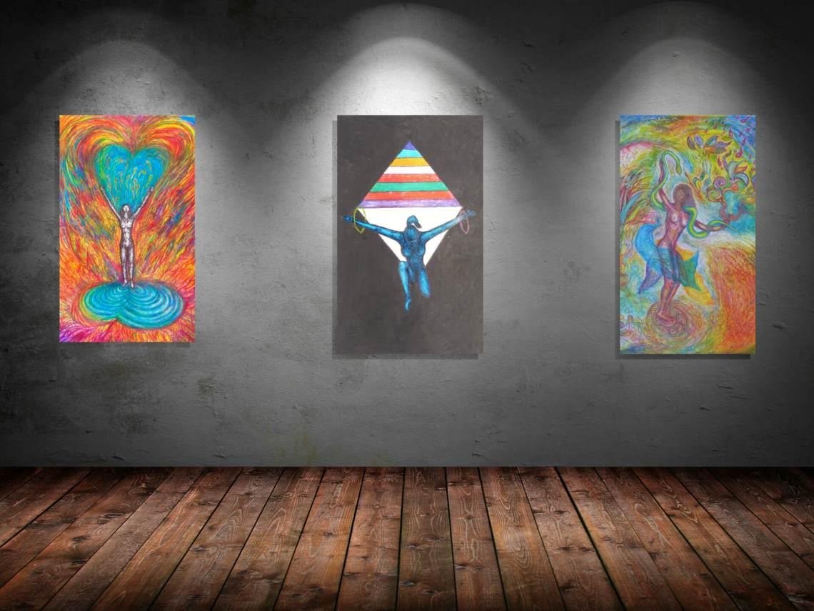 Kunstgalerien • Ausstellungen by Sasko Rajcevski