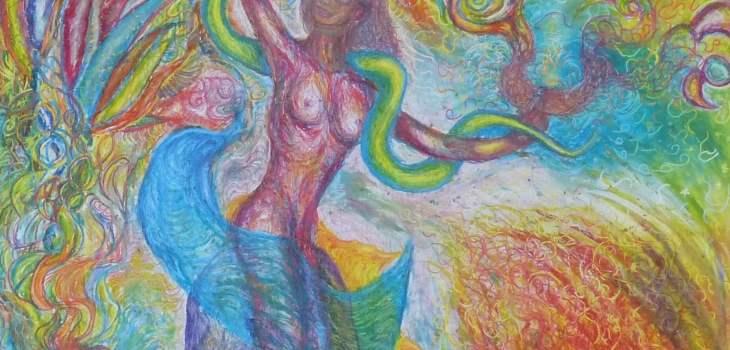 Hermaphrodite Malerei und Kunst by Sasko Rajcevski