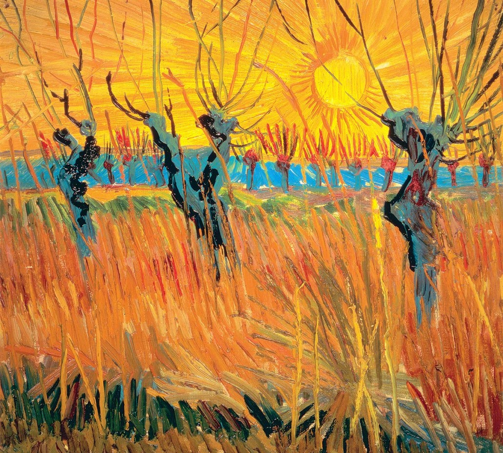 Willows at Sunset 1888
