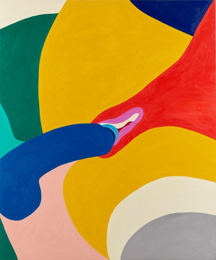 Helen Beard_Wet Wednesday_2017_Oil on canvas_2400 x 2000mm_┬® Helen Beard_Courtesy Newport Street Gallery_Photo Prudence Cuming Associates