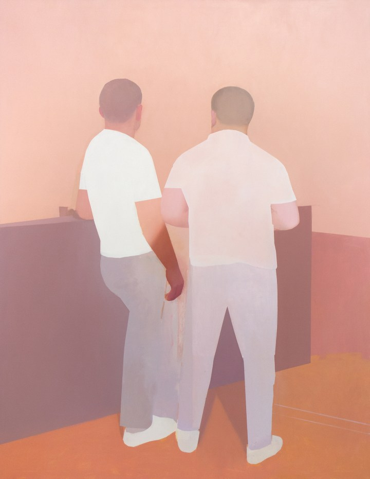 Manuel Stehli, Untitled, 2019, 220 x 170 cm, oil on canvas