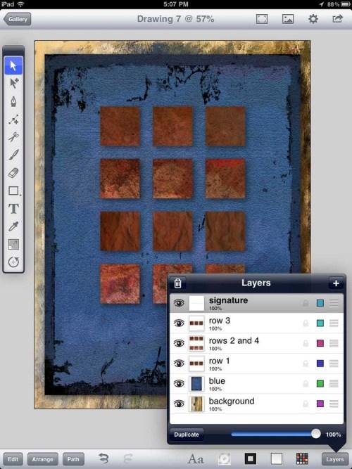 Inkpad-layers