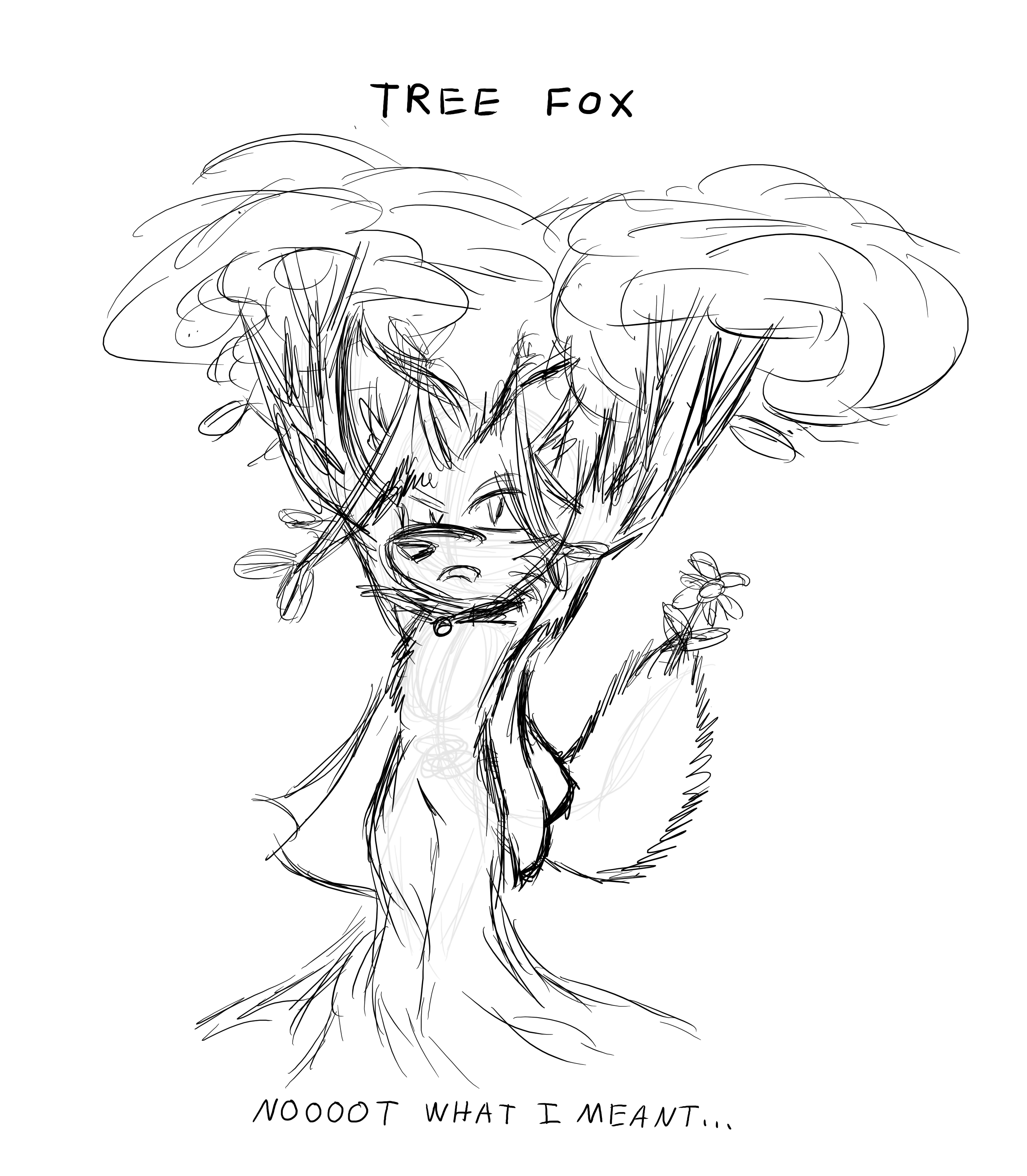 Fox Tree Art