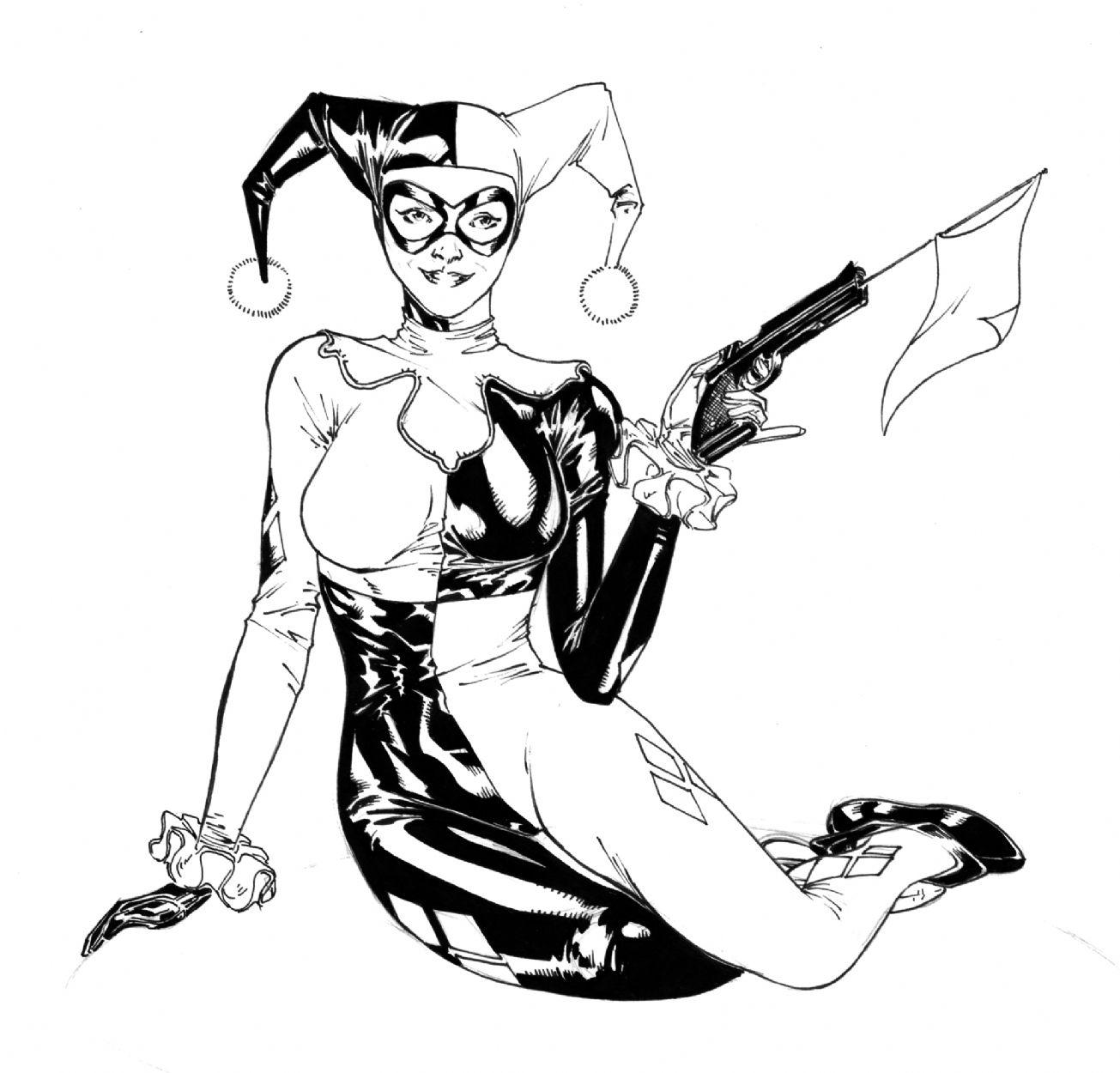 Harley Quinn In Spider Guile S Commissions And Other