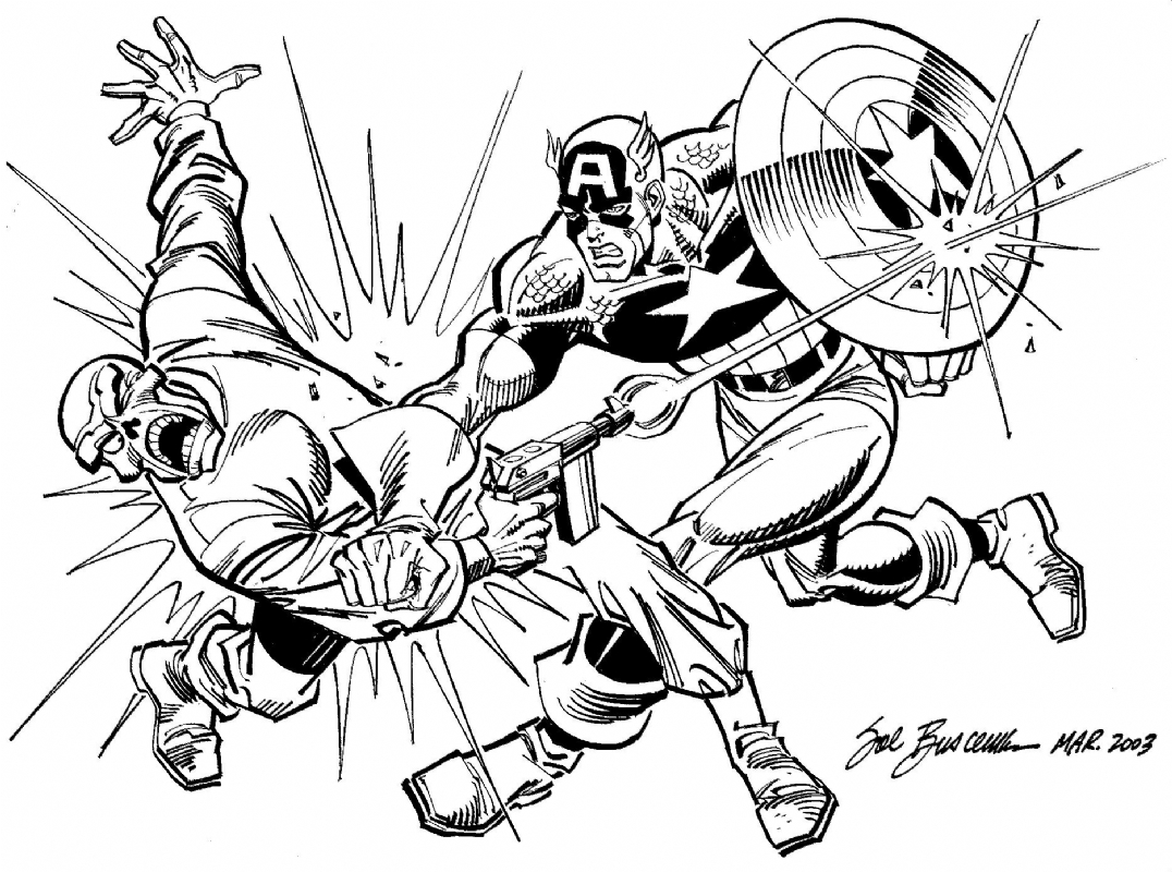 List of Captain America Red Skull Coloring Pages Pict - Best Pictures