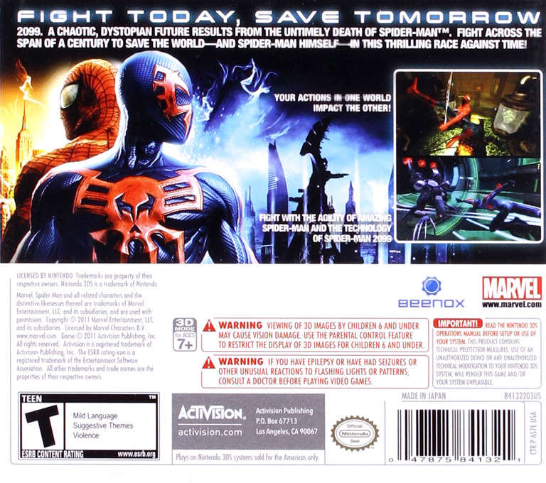 AS7E Spider Man Edge Of Time