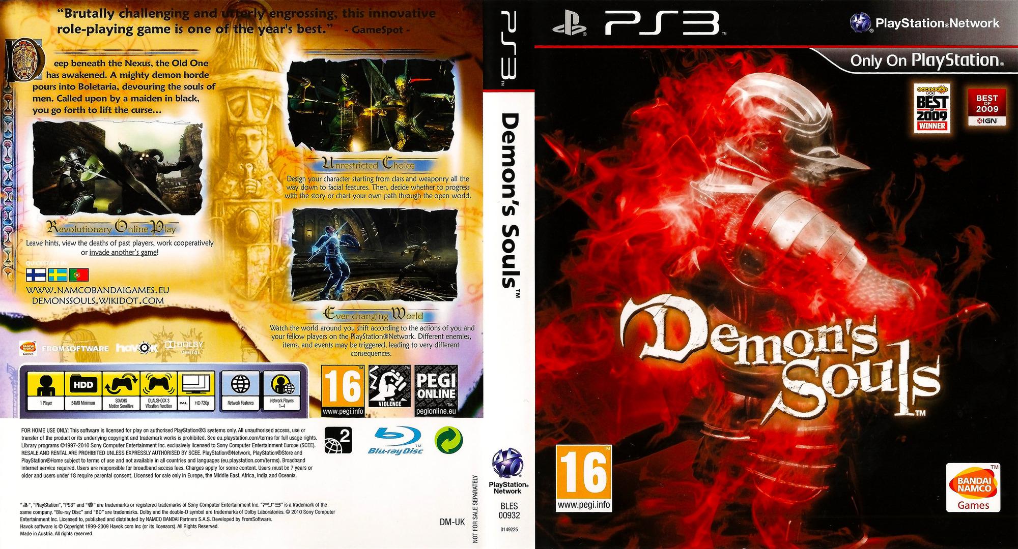 BLES00932 Demons Souls