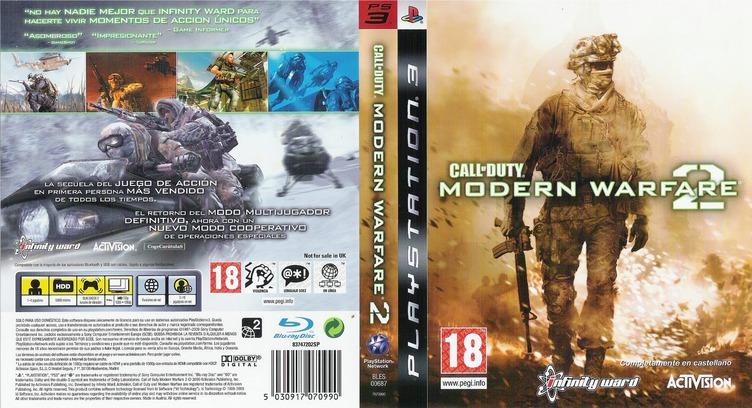BLES00687 Call Of Duty Modern Warfare 2